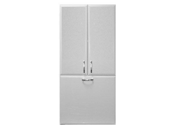 Шкаф навесной  Vod-ok 60 с бельевой корзиной, 3 цвета