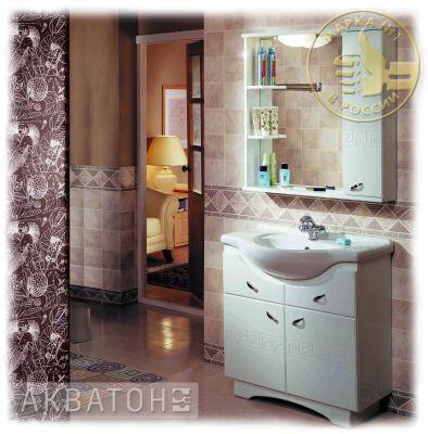 Мебель для ванной комнаты Акватон Аттика 85