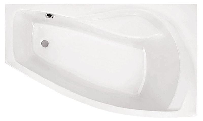 Акриловая ванна Santek Майорка XL 160*95 без гидромассажа Правосторонняя
