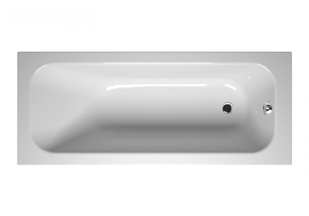 Акриловая ванна Vitra Balance 170x70 без гидромассажа