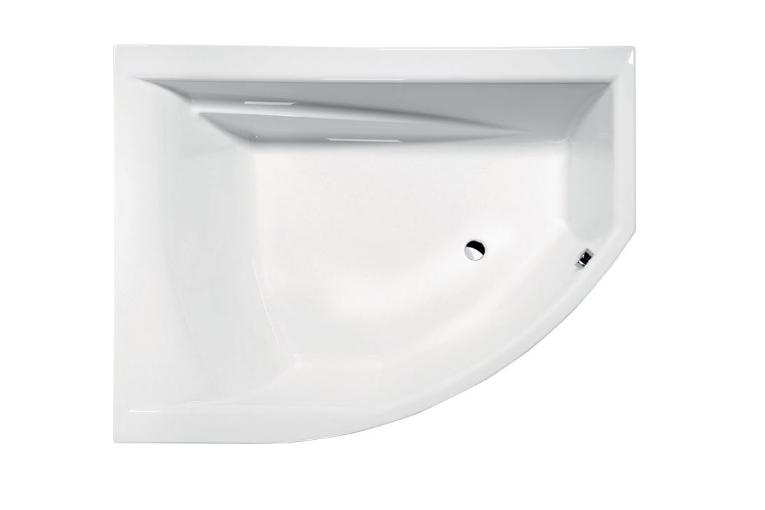 Акриловая ванна Alpen Tandem 170x130 L без гидромассажа