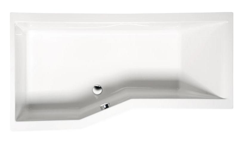 Акриловая ванна Alpen Versys 170x85 без гидромассажа L